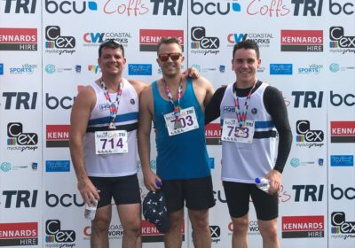 HQB Accountants Auditors Advisors participate in BCU Triathlon